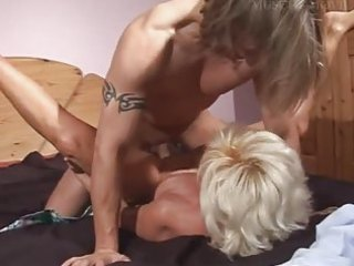 hot german mommy with her smooth pussy