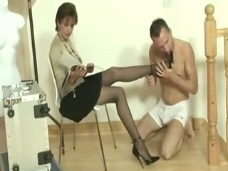Miss sonia might make time for her eager slave