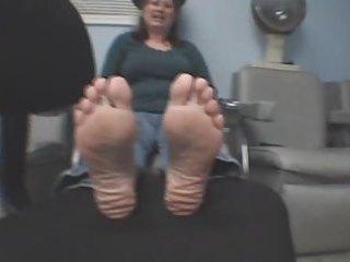 mature mmf feet