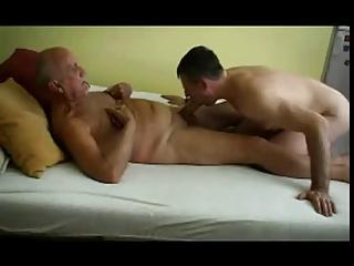 old man and boyfriend