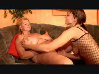 big beautiful woman lesbo granny and her