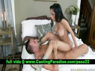 lela star brunette pornstar fucking and acquires