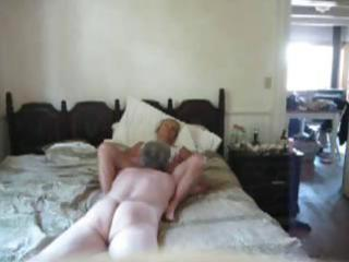 older couple filming him giving his 58 yo wife an