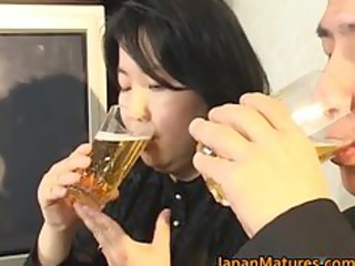 japanese aged chick has sexy sex part2