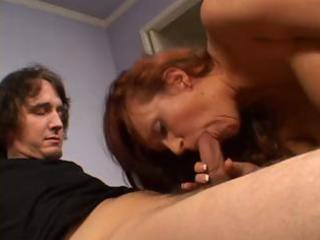 milf redhead and her vaginal adventures