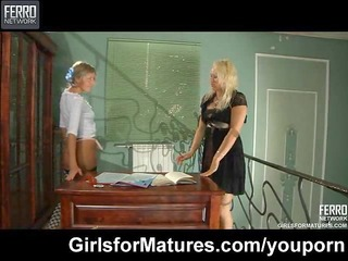 lesbo maid seduces her d like to fuck