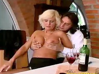 insane old mamma gets fucked hard in muff and