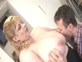 blonde big charming woman-mother id like to fuck