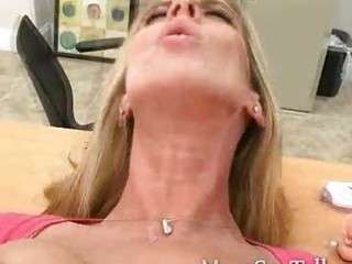 Nasty blond milf gets what she craves a good deep