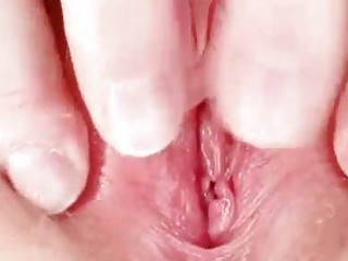 ugly redhead mamma toys her hairy pussy