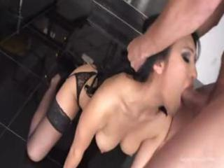 Sexy asian milf has a craving for his cock to