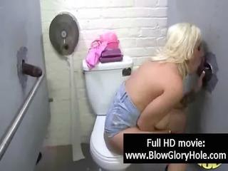 gloryhole - horny hot breasty chicks love sucking