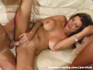 milf housewife acquires one cock in the ass and