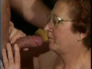 naughty granny is dying for a proper fuck and she
