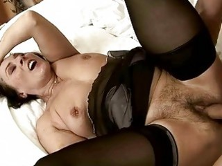 hot shaggy granny getting fucked gorgeous hard