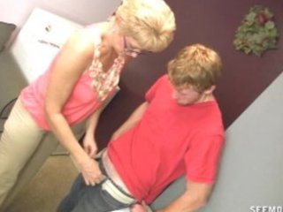 girlfriends mommy craves to clean his cock with