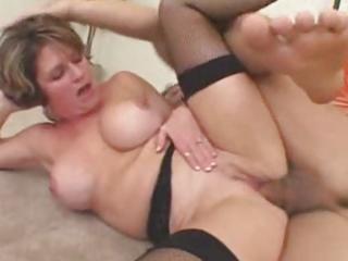 mature mum makes him cum