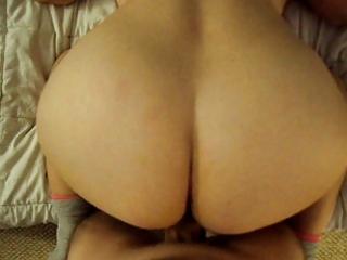 Fucking wifes big butt