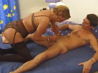 busty french mamma likes youthful knob