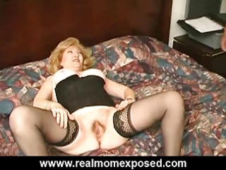 busty aged fucked hard at the motel