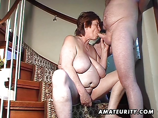 overweight amateur wife toys and sucks and