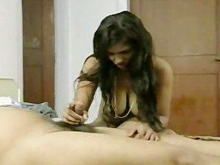 short dick desi guy trying to please wife with