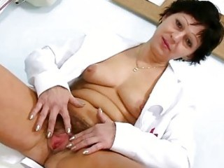 sexy d like to fuck in nurse uniform stretching