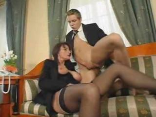 superb curly older fuck and squirt