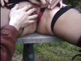 Danielle is a mature french floozy who fucks two