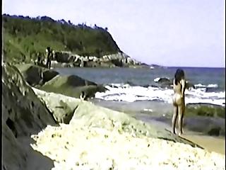 my exibitionist wife beatrice on beach 7