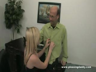Tegan fucks her mature boss