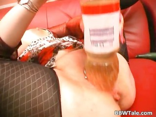 crazy old slut feeling slutty whilst solo part1