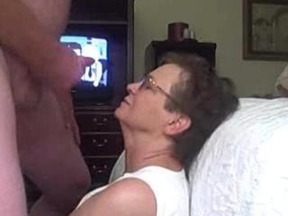 granny acquires a facial