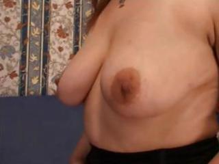 Nasty mature russian redhead trades some head