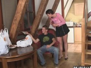 horny mama fucks her daughters bf