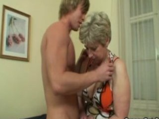 blond older fucked hard by young lad
