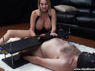 mean dom d like to fuck uses helpless bondman