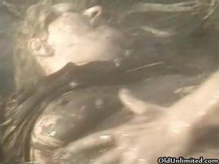 dirty old mommy covered with mud acquires part10