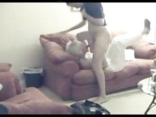 non-professional wife fucked on hidden webcam