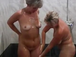 hot aged lady with a young lad