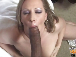 interracial gang gangbang with sexy white mom