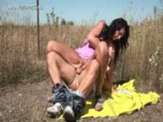 horny d like to fuck receives fucked hard outdoor