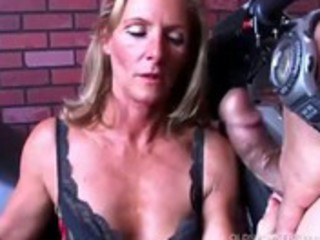 nice-looking milf in nylons gets shafted