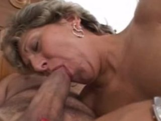 mature lady takes the penis everywhere
