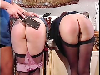 cute booties getting spanked