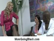 large black rod on my mom interracial porn video