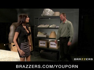 sexy big-tit excited pornstars fuck their boss