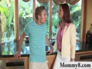 sexy mature mother i learns teen pair a lesson by