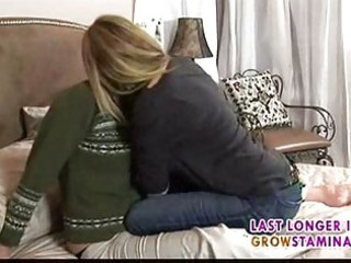 Mature lesbians give pleasure to each other1