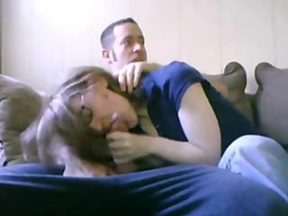 Blowjob with Mom in the Room